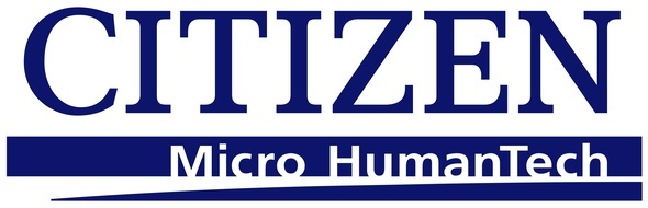 Blue Citizen Micro HumanTech company logo for page about technology partners